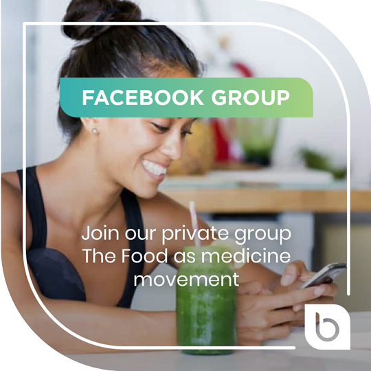 Join our private group The Food as medicine movement